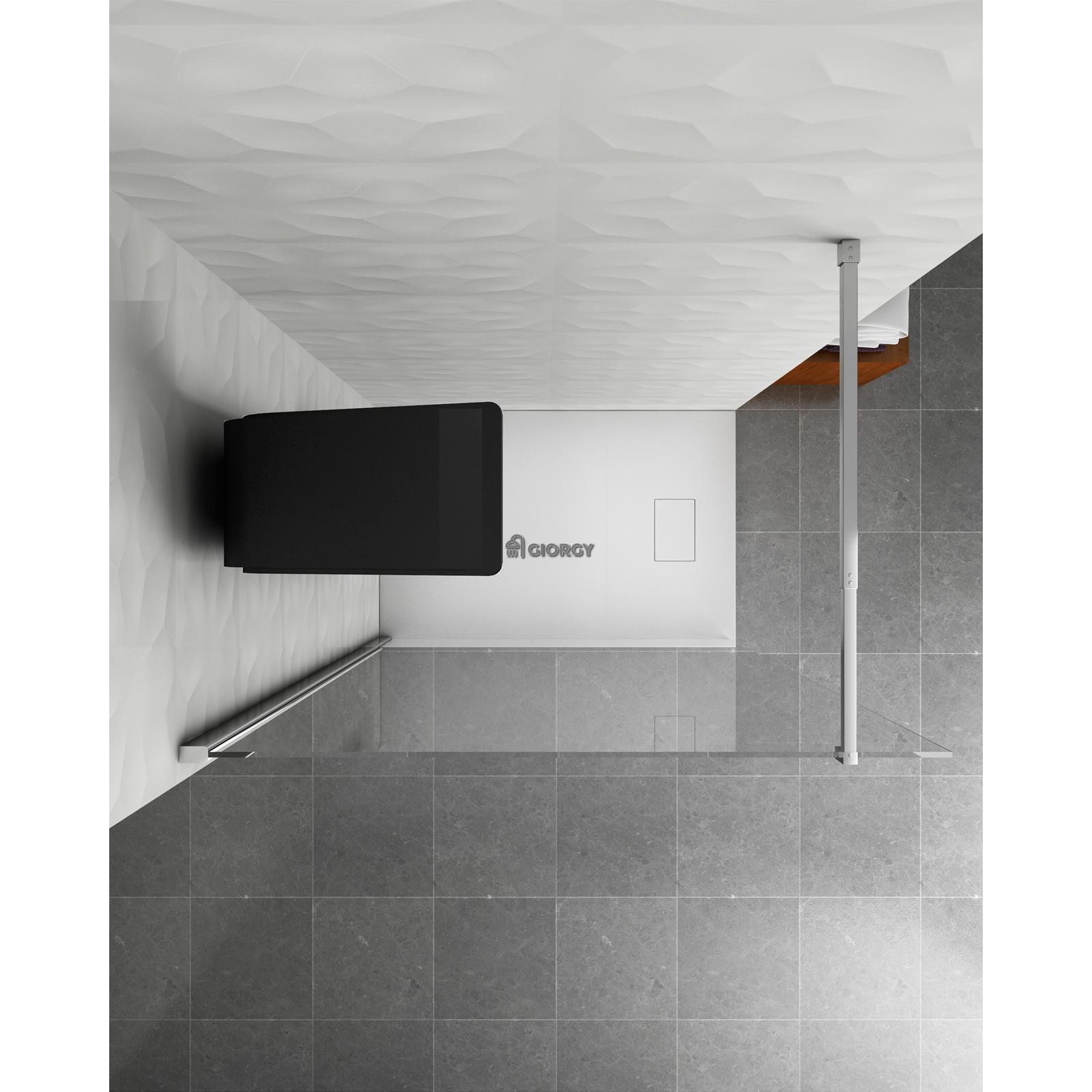 fl chenvorhang spalte dusche hydro massage alu schwarz handbrause kopfbrause ebay. Black Bedroom Furniture Sets. Home Design Ideas