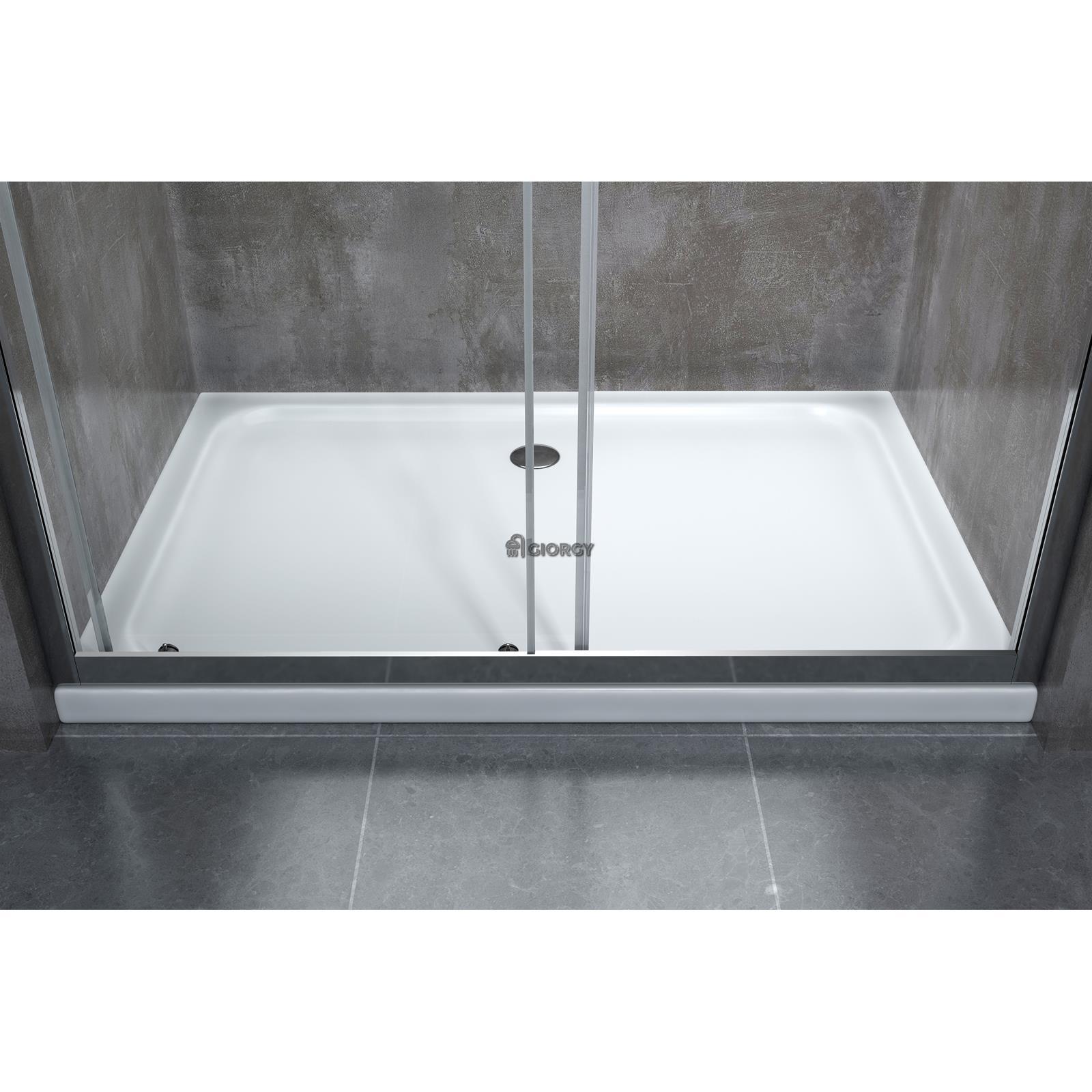 Porta scorrevole per installazione in nicchia reversibile - Porta in cristallo scorrevole ...