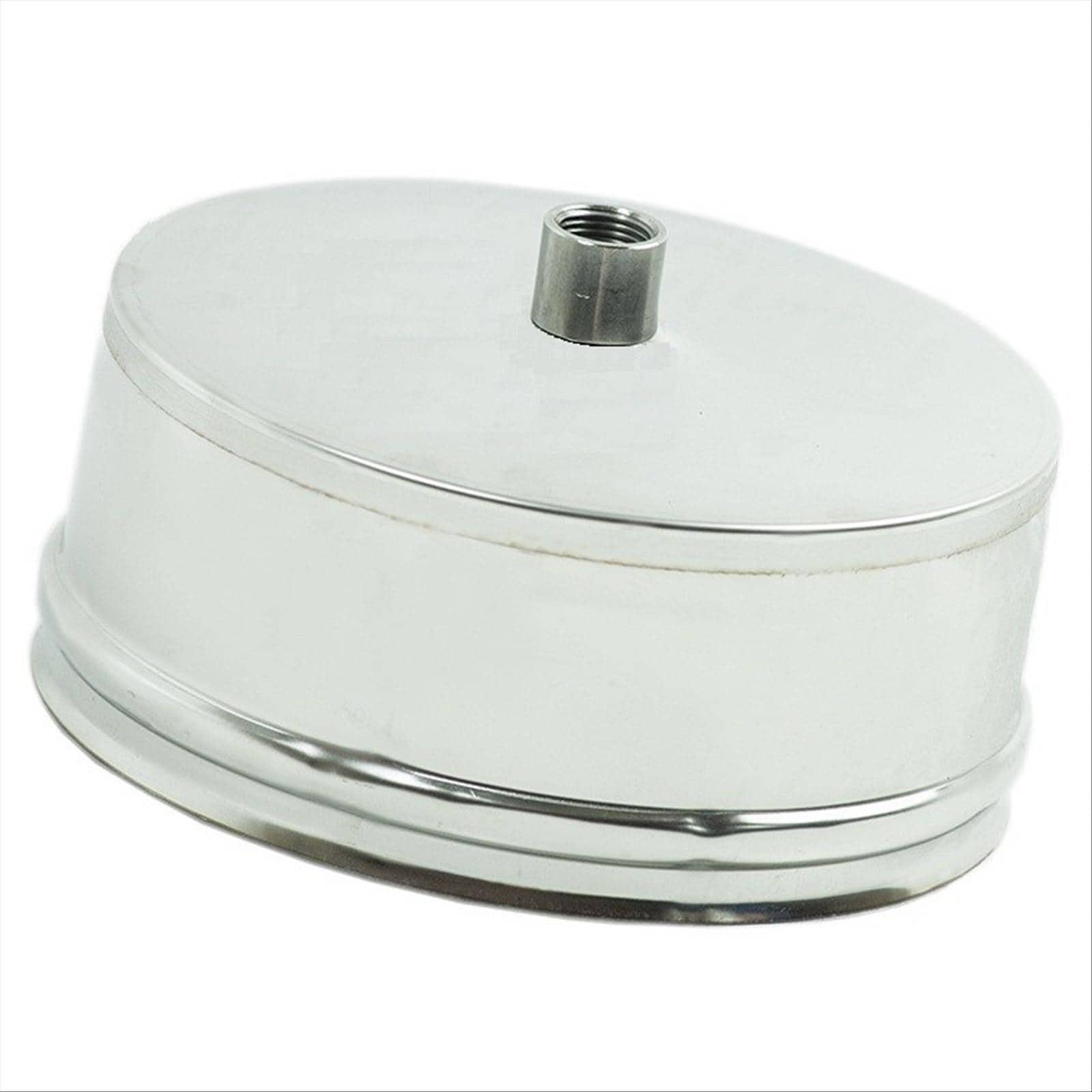 Tappo per scarico condensa canna fumaria acciaio inox 314 for Canna fumaria inox bricoman