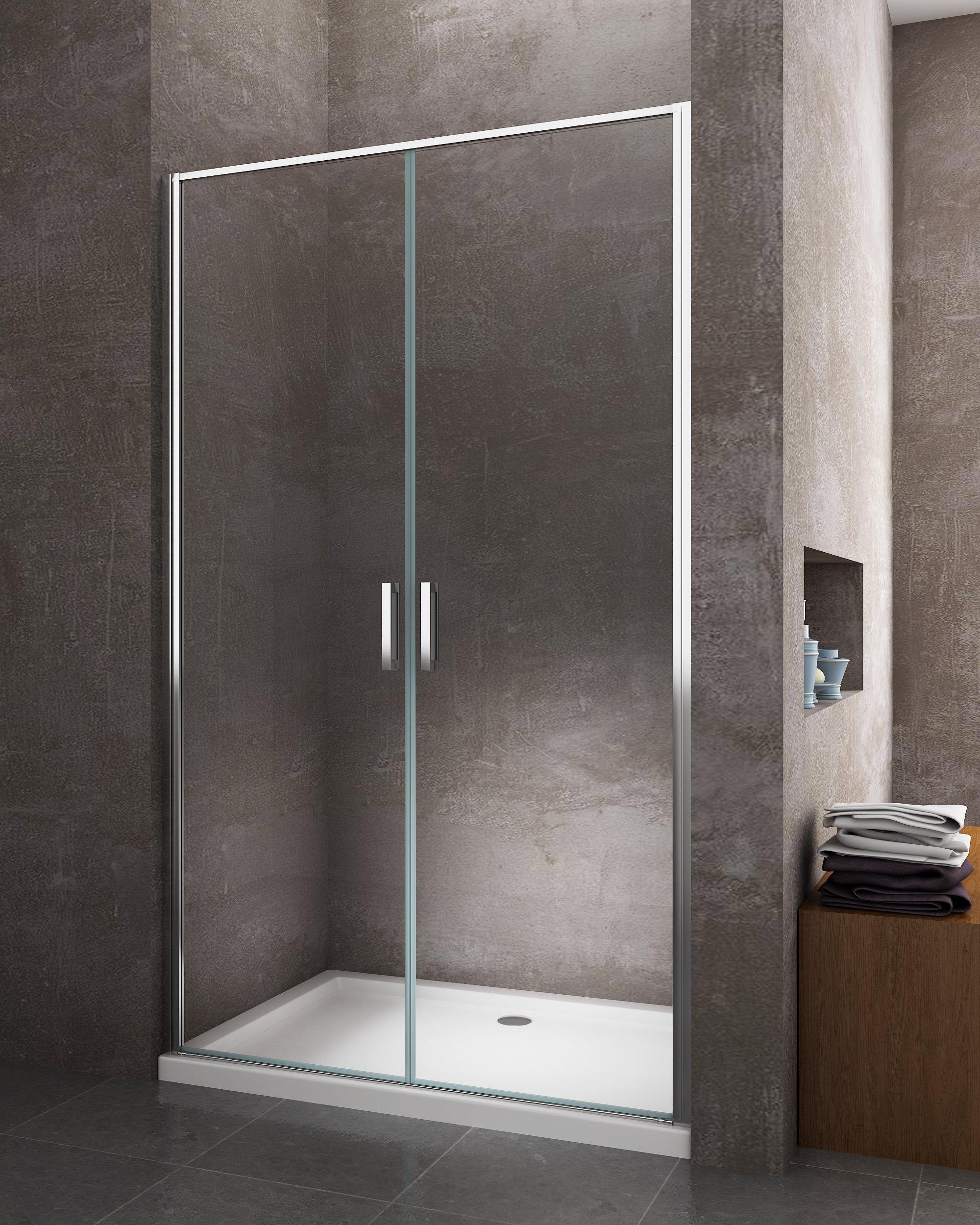 Docce moderne prezzi box doccia lati a scomparsa in acrilico mm e alluminio bianco ral with - Cabine doccia prezzi leroy merlin ...