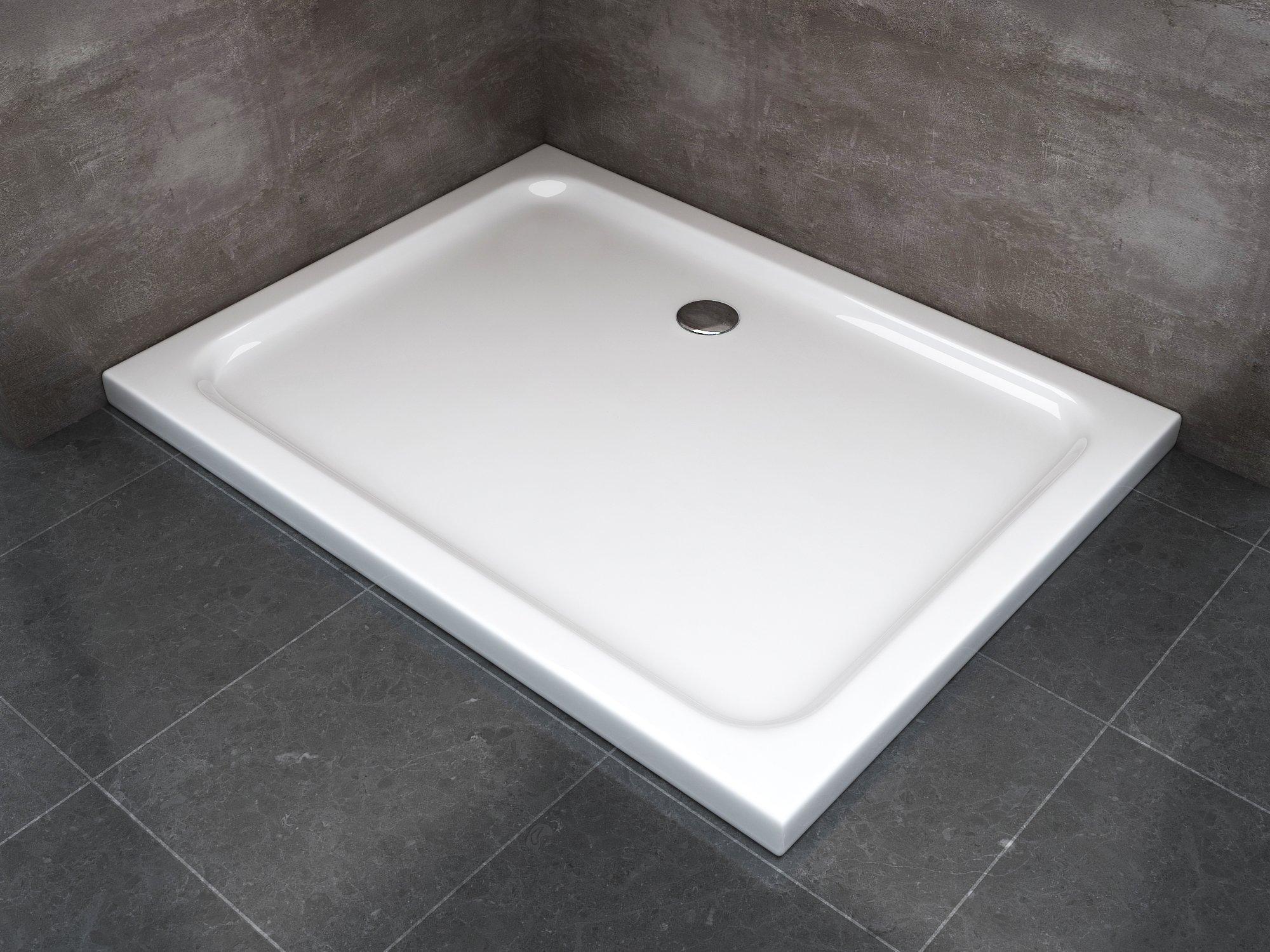 Piatto doccia ribassato realizzato abs h 5cm varie misure - Misure piatto doccia piccolo ...