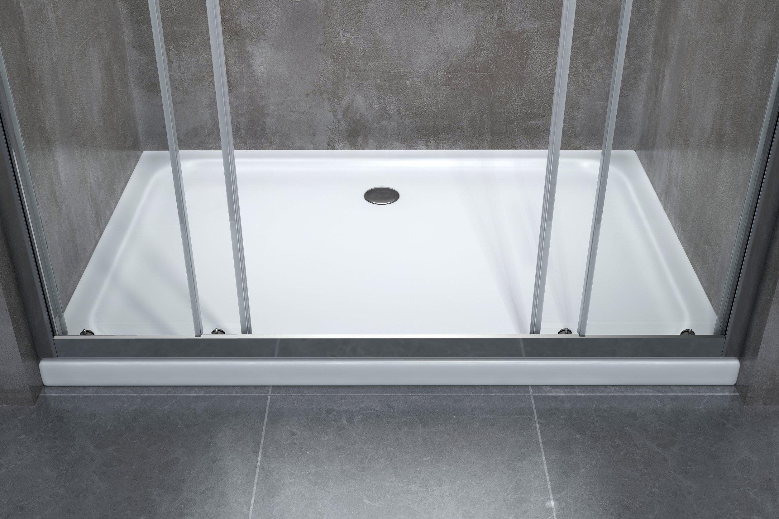 Sostituzione vasca doccia box doccia completo 3 lati