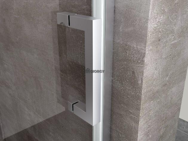 maniglia porta box doccia alluminio cromato