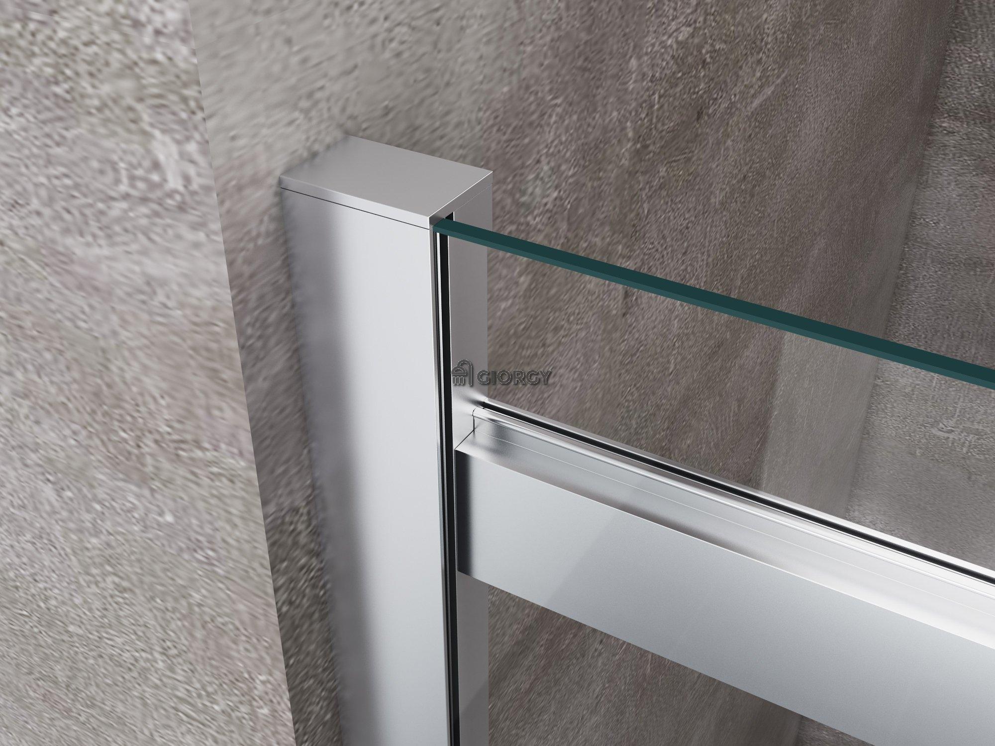 Porta doccia per nicchia 8 mm apertura scorrevole giorgyshopgiorgyshop