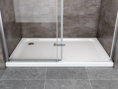 piatto box doccia rettangolare bianco arredo bagno
