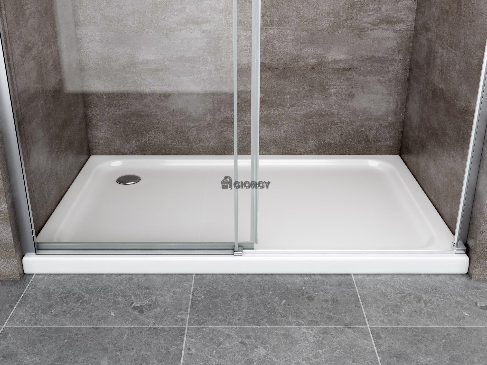 Porta doccia per nicchia 8 mm apertura scorrevole giorgyshopgiorgyshop - Porta scorrevole per doccia ...
