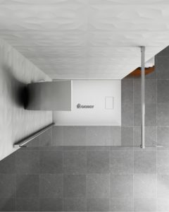 colonna doccia idromassaggio acciaio arredo bagno