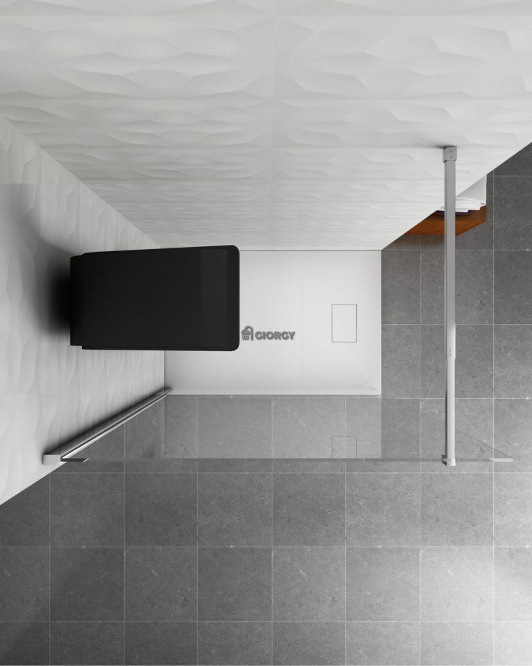 colonna doccia idromassaggio nera arredo bagno