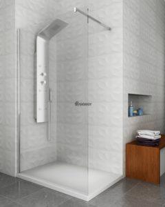 colonna idromassaggio box doccia walk-in arredo bagno