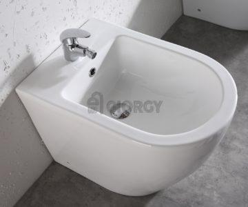 bidet a terra filo muro ceramica bianca arredo bagno