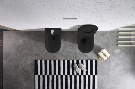 sanitari bagno wc bidet filo muro