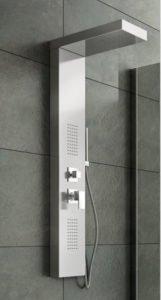 colonna colonna doccia idromassaggio soffione a cascata arredo bagno