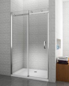 box doccia porta scorrevole per nicchia arredo bagno