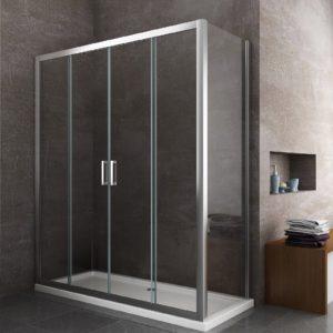 box doccia rettangolare sostituzione vasca doccia arredo bagno