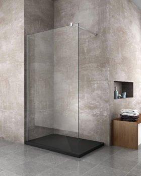 Tutti i vantaggi del box doccia walk in a parete for Arredo bagno doccia
