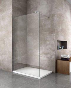 parete box doccia fissa walk in arredo bagno