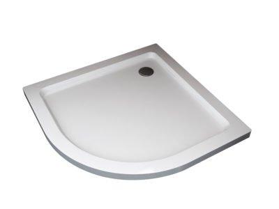 piatto box doccia bianco semicircolare arredo bagno